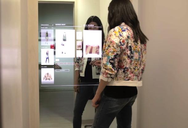 Interactive Dressing Room