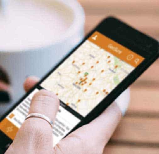mobile app for travel