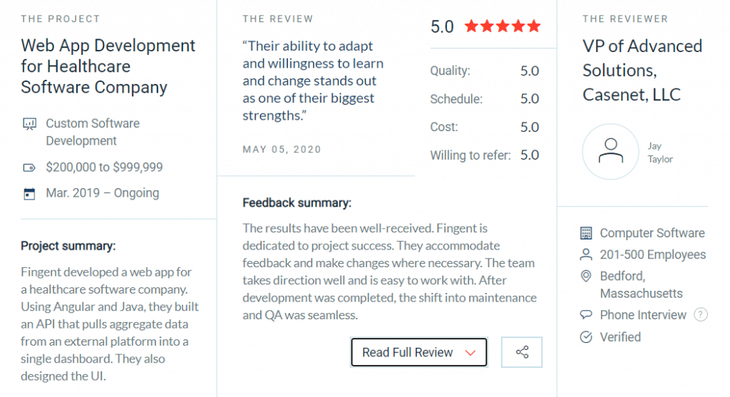Review_Fingent