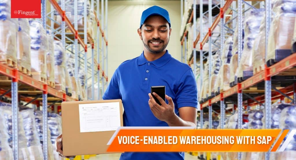 Voice-enabled warehousing