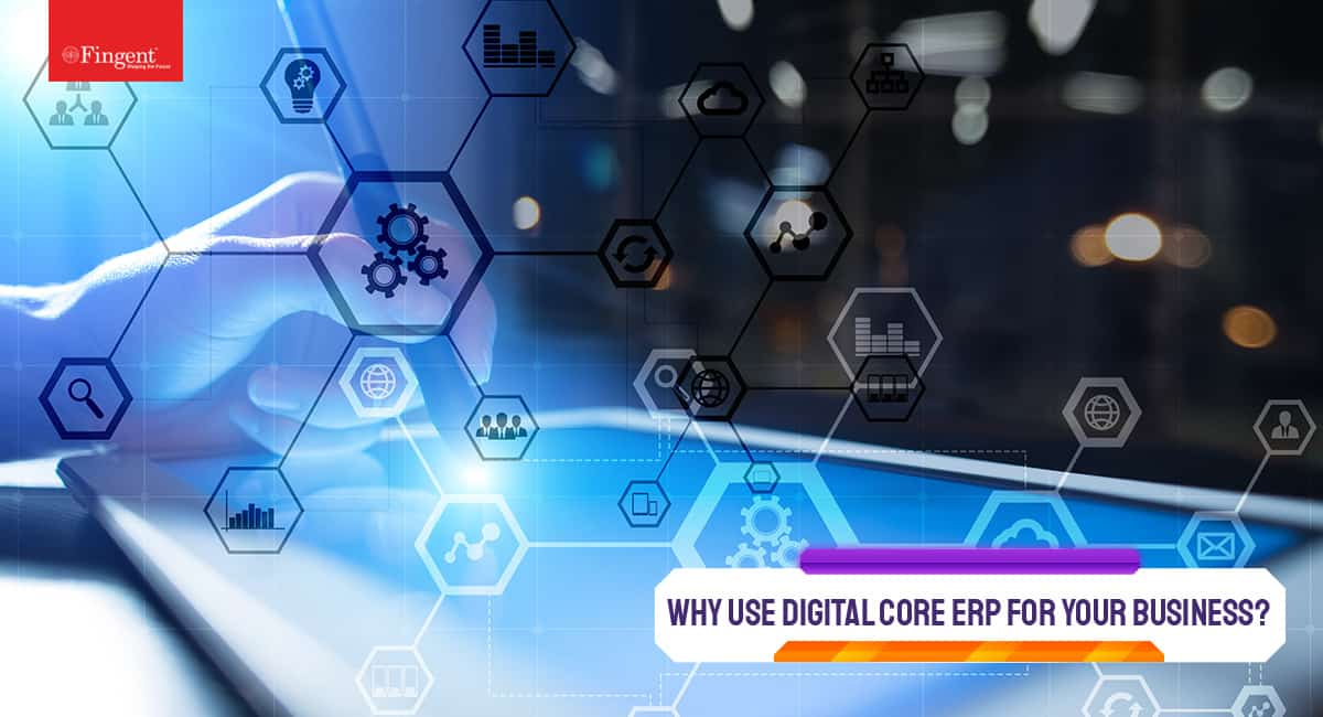 Digital core ERP
